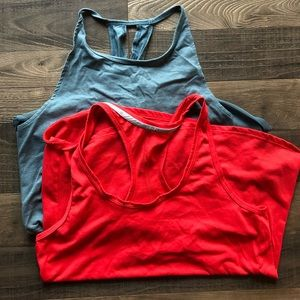 2 racerback work out tanks.